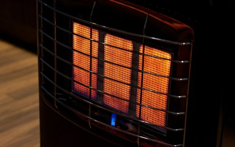 can you use a propane heater inside