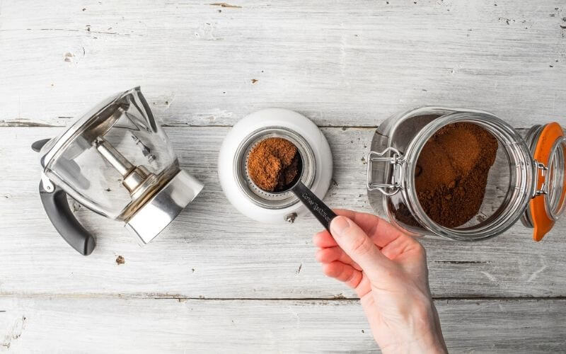 coffee beans to ground coffee ratio