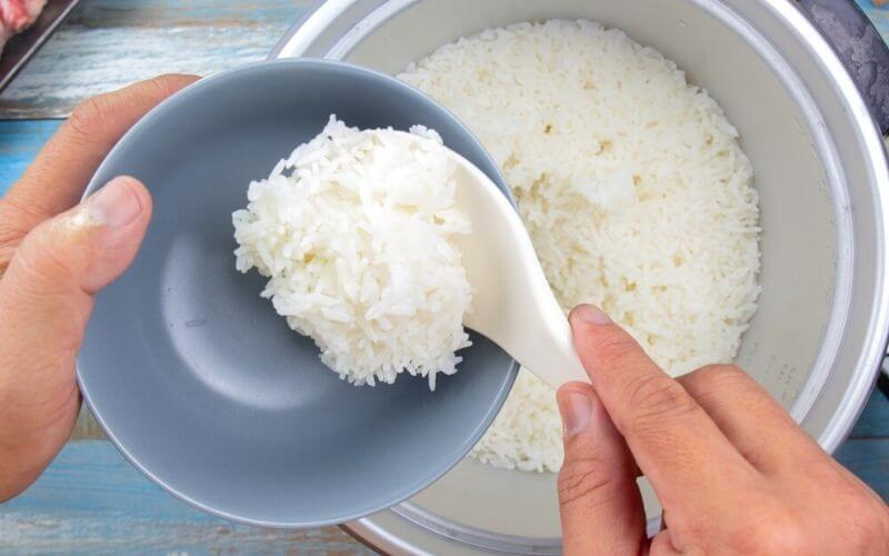 cups of rice per serving