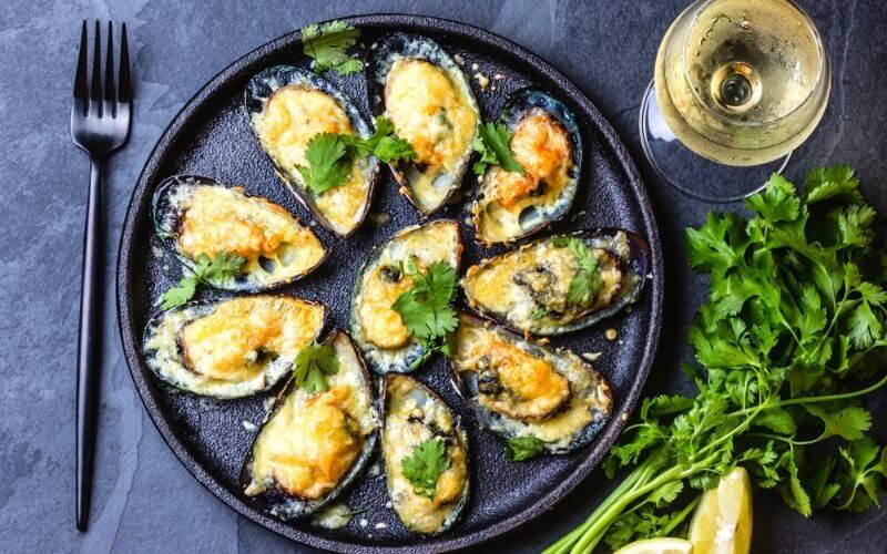 how to cook green mussels