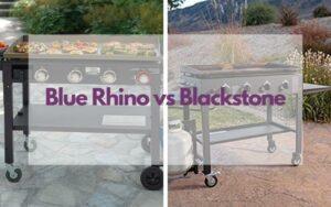 blue rhino griddle vs blackstone